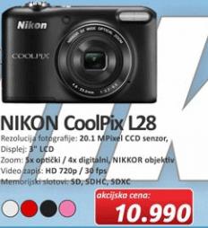 Fotoaparat Coolpix L28