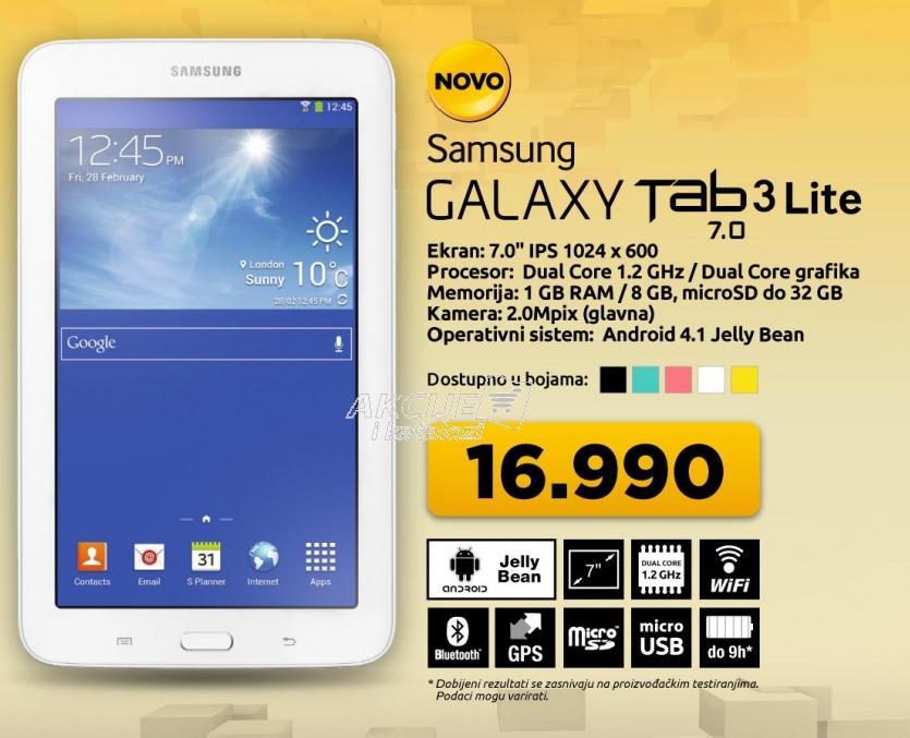 Galaxy Tab3 7.0 Lite