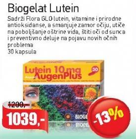 Kapsule Biogelat Lutein