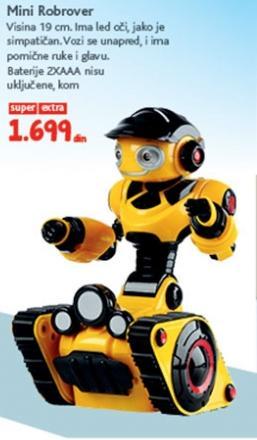 Igračka mini Robrover
