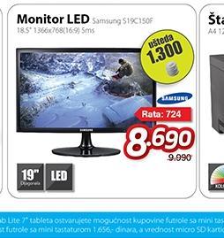 """Monitor 18.5"""" S19C150F LED"""