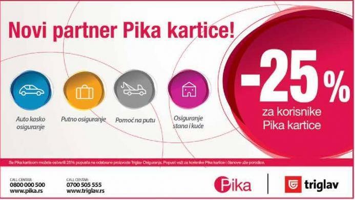 Novi partner Pika kartice