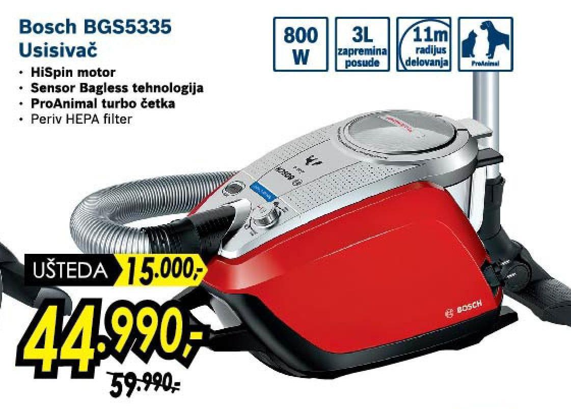 Usisivač BGS 5335