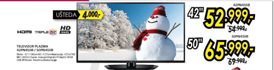 Televizor Plazma 42PN450B+