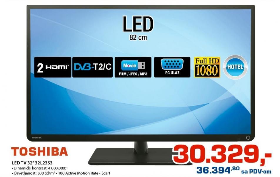 """Televizor LED 32"""" 32L2353"""