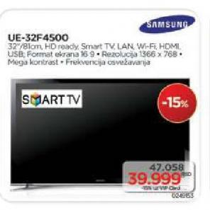 "Televizor LED 32"" UE32F4000"