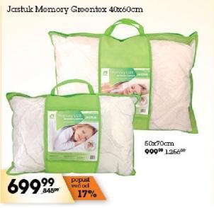 Jastuk Memory 50x70 Greentex