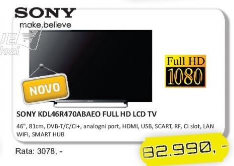 """Televizor LED 46"""" KDL46R470ABAEO"""