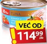 Tunjevina u paradajz sosu