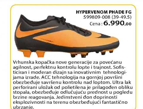 Fudbalske kopačke Hypervenom phade  FG