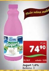 Jogurt 1,6% mm