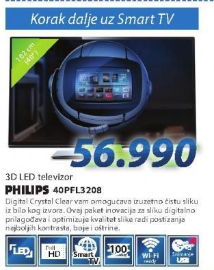 "Televizor LED 40"" 40PFL3208"
