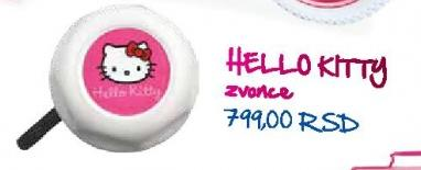Zvonce za biciklo Hello Kitty