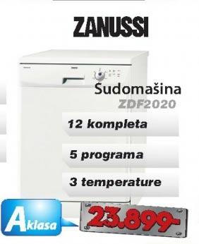 Sudomašina Zdf2020