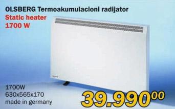Termoakumulacioni radijator Olsberg