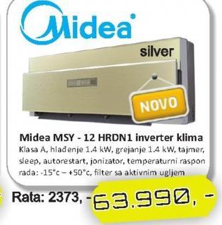 Klima MSY - 12 HRDN1
