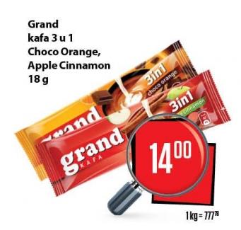 Kafa instant 3u1 apple cinnamon