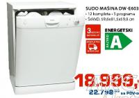 Sudo Mašina Dw-E6035