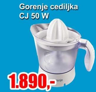 Cediljka CJ 50 W
