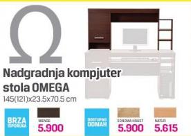 Nadgradnja Kompjuter sto Omega
