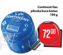 Continent Gas plinska boca butan