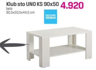 Klub sto Una KS 90x50