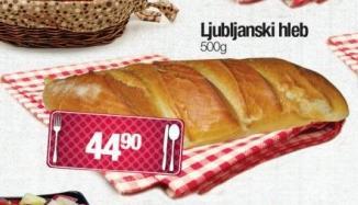 Hleb ljubljanski