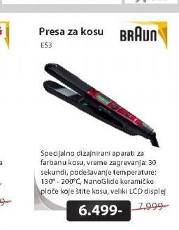 Pegla za kosu ES3