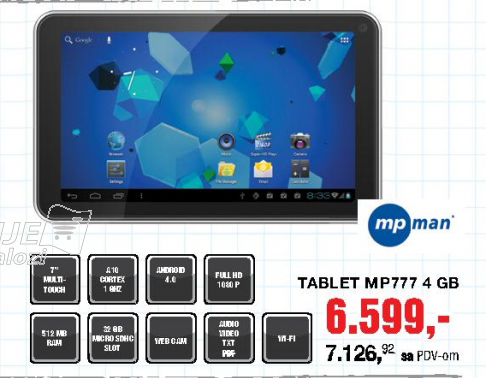 Tablet M777