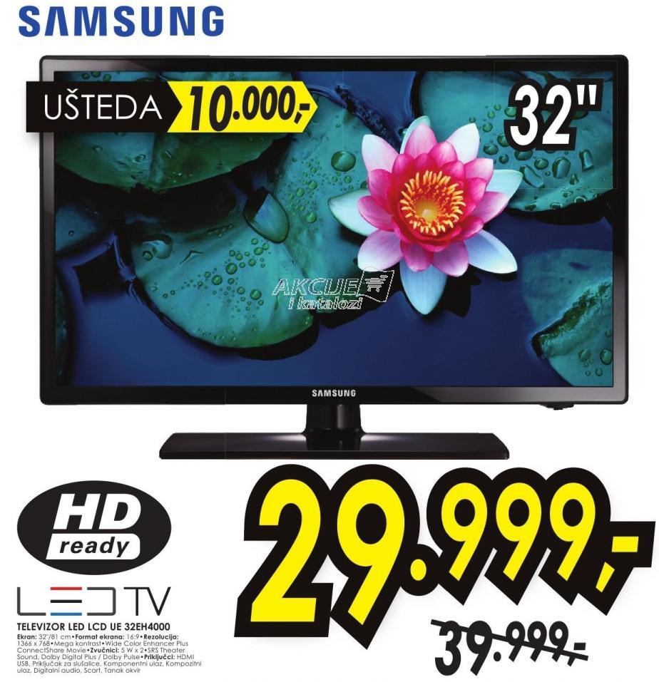 "Televizor LED 32"" Ue32eh4000"
