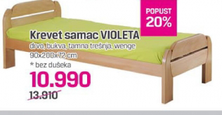 Krevet samac Violeta