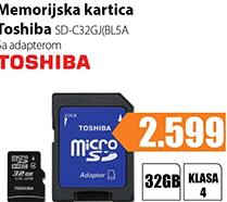 Memorija MicroSD SD-C32GJ(BL5A