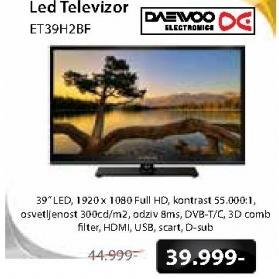 """Televizor LED 39"""" ET39H2BF"""