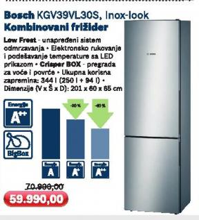 Frižider KGV39VL30S