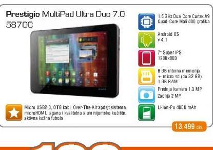 Tablet MultiPad 5870C
