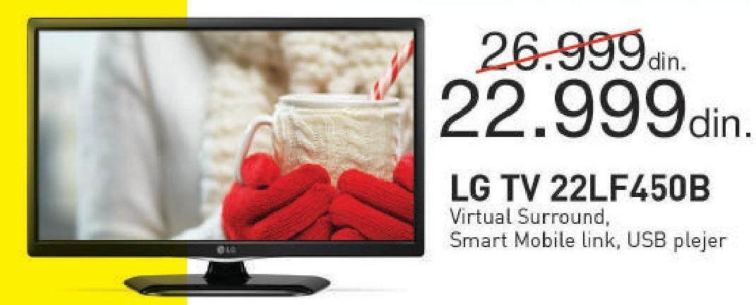 """Televizor LED 22"""" 22LF450B"""
