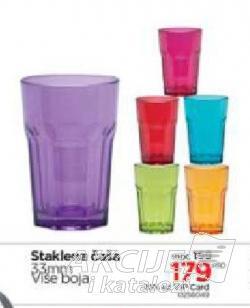 Staklena čaša