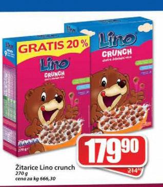 |Žitarice Lino crunch