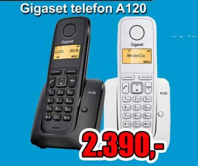 Bežični Telefon Gigaset A120 black