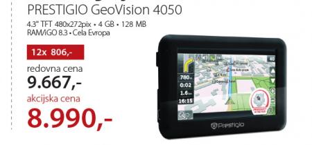 Navigacija GeoVision 4050