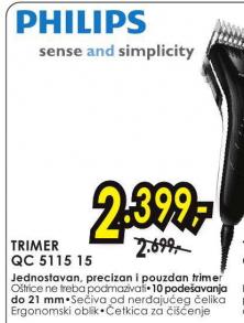 Trimer QC 5115 15