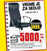 Kancelarijska stolica Magnus