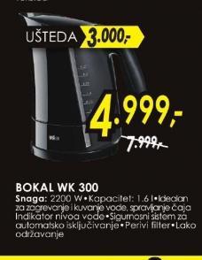 Bokal WK 300