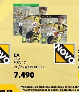 PS4 igra FIFA17
