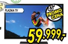 3D Plazma Televizor PS-43F4500