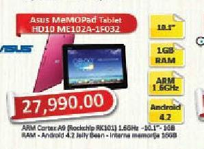 Tablet MeMOPad HD10 ME102A-1B035