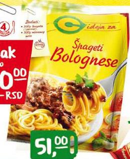 Začin za špagete