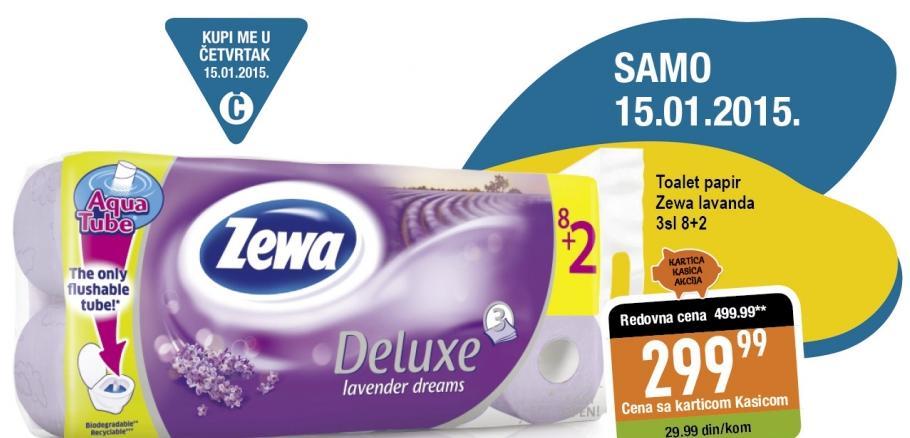 Toalet papir 3sl lavander dreams