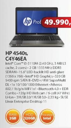 Laptop 4540s C4Y46EA