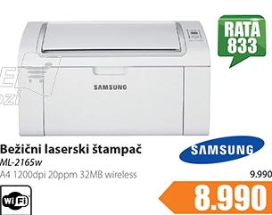 Štampač Laser A4 ML-2165W